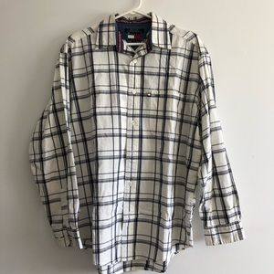 TOMMY JEANS Plaid Button Down